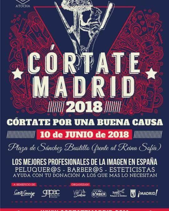 Cortate el pelo por una buena causa. CORTATE MADRID